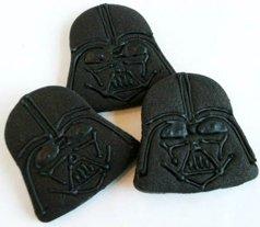 star wars birthday party darth vader cookies