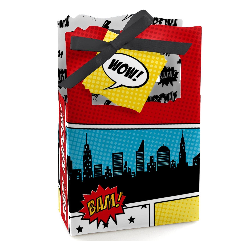 superhero party favor bags