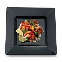 disposable black plate