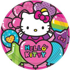 hello kitty party plates