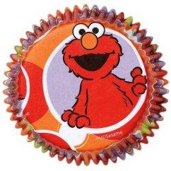 elmo cupcake liners