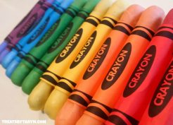crayon candy
