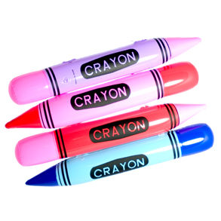 inflatable crayon