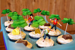 pirate cake toppers