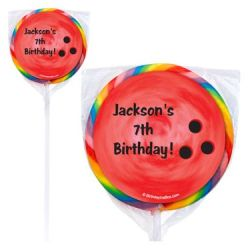 bowling lollipops