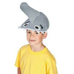 shark fin hats