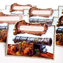 pirate place cards