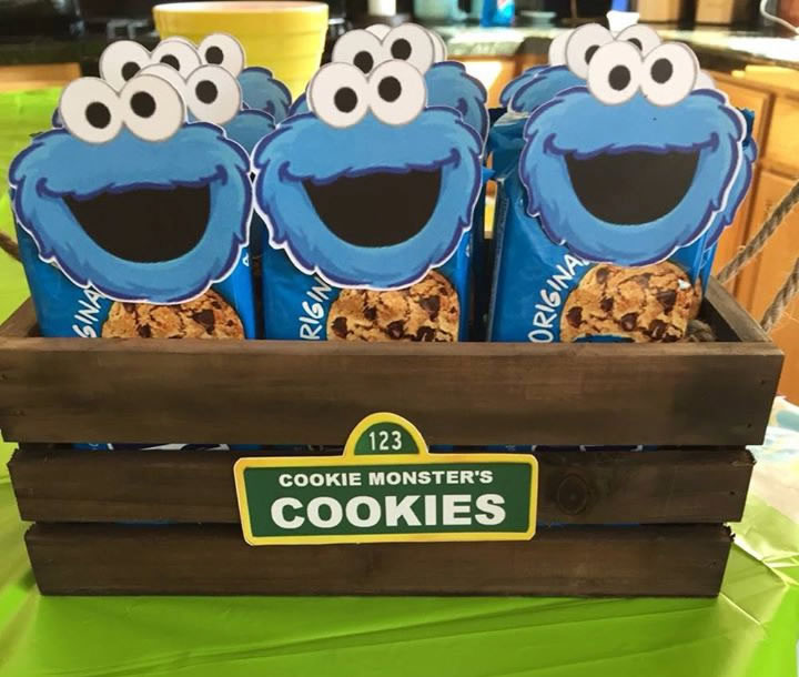 cookie monster cut outs