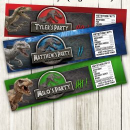 dinosaur printable labels