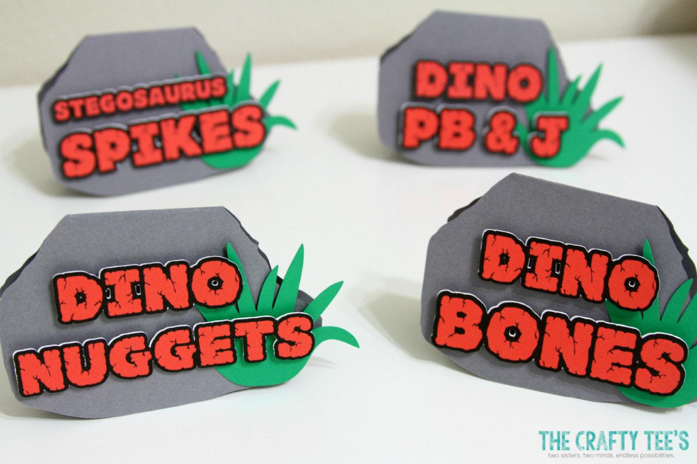 dinosaur printable labels
