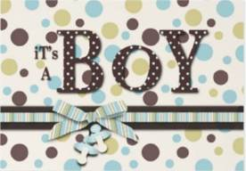 create invitations it's a boy