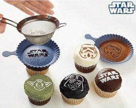 star wars cupcake stencil