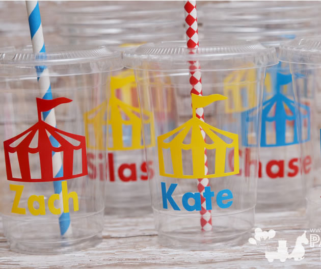 carnival party cups