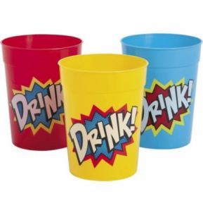 superhero tumbler cups