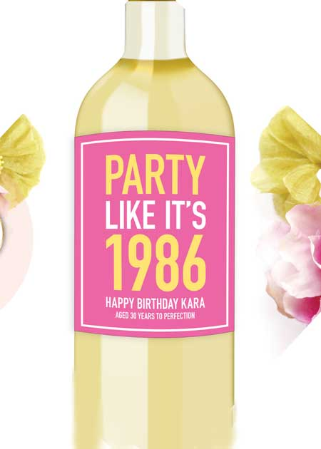 personalized wine bottle labels