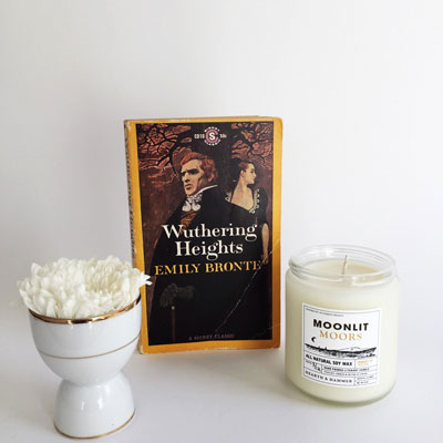 literary candles Wuthering Heights