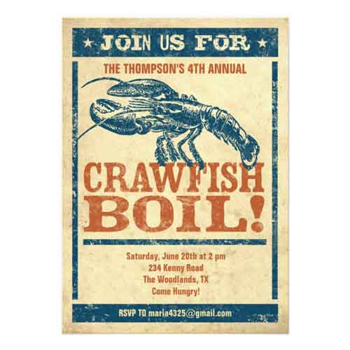 crawfish broil invitation