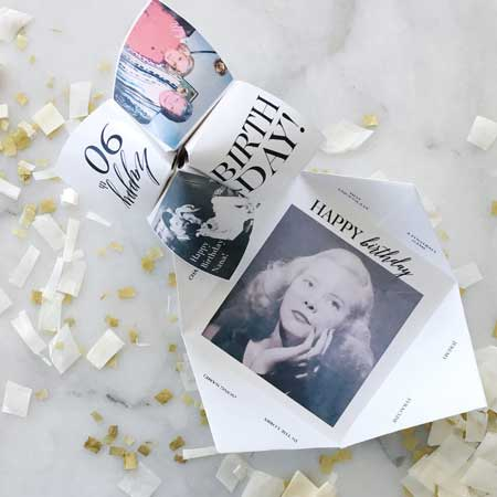 cootie catcher invitations