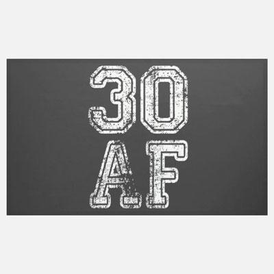 30 AF banner