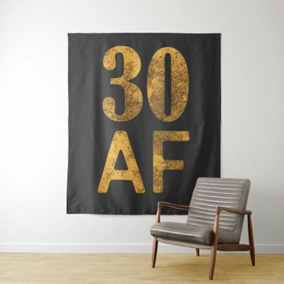 30 AF backdrop wall tapestry