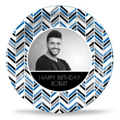 Best Day Ever 30th birthday custom party plates