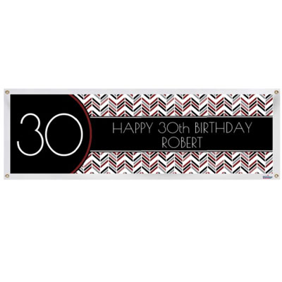 Best Day Ever 30th birthday banner