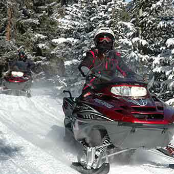 snowmobile tours