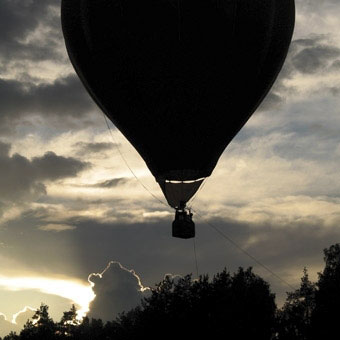 Hot Air Balloon Ride & Wine Tour