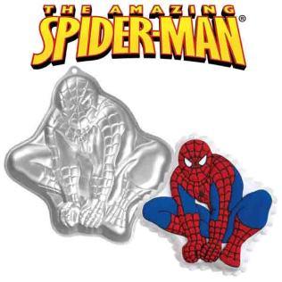 superhero cake pan