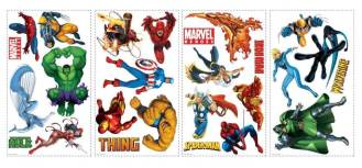 superhero wall stickers decals