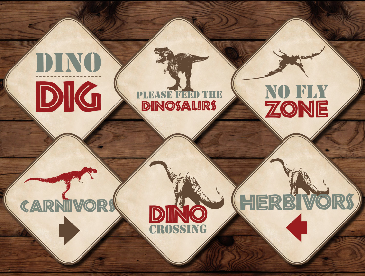 dinosaur signs