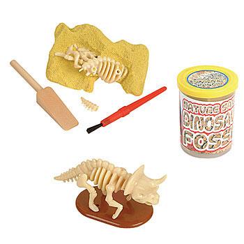 make dinosaur fossils