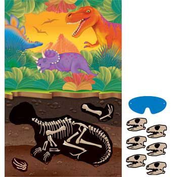 dinosaur party game