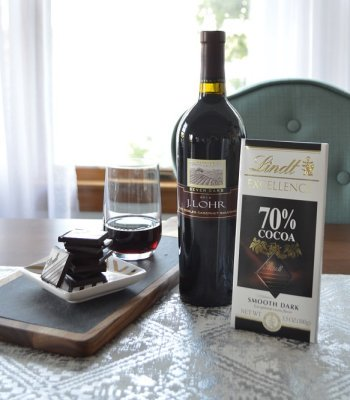 lindt wine and chocolate pairing