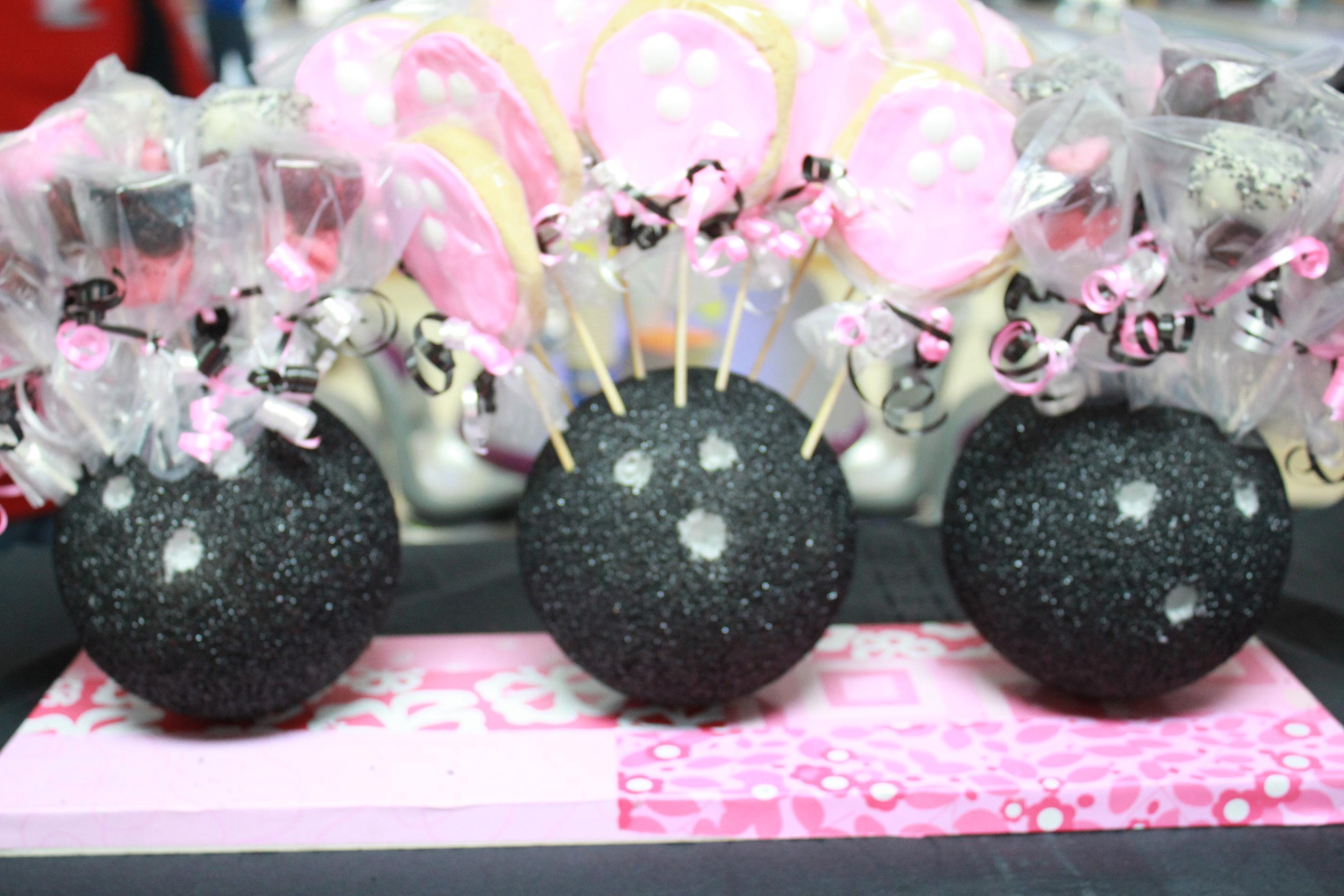 styrofoam bowling balls
