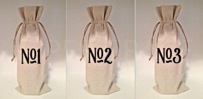 blind wine tasting bags