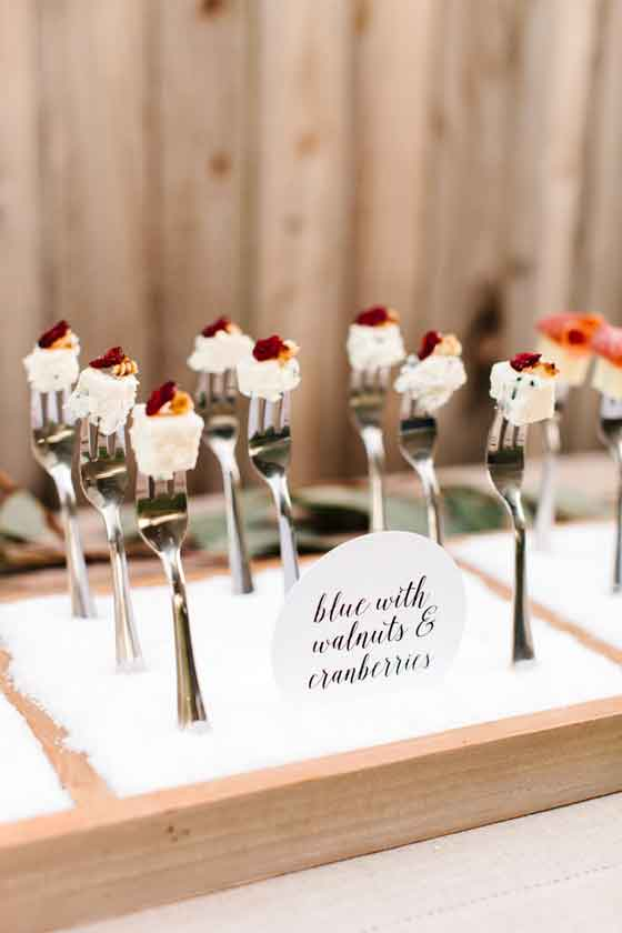 party food presentation ideas