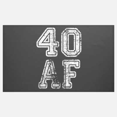 40 AF banner