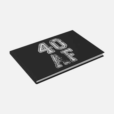 40 AF guest book