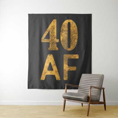 40 AF backdrop wall tapestry