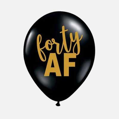 40 AF balloons