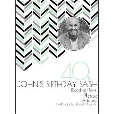 Best 40th Ever invitations