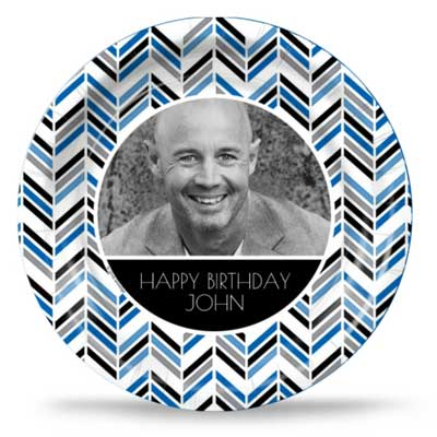 Best Day Ever 40th birthday custom party plates