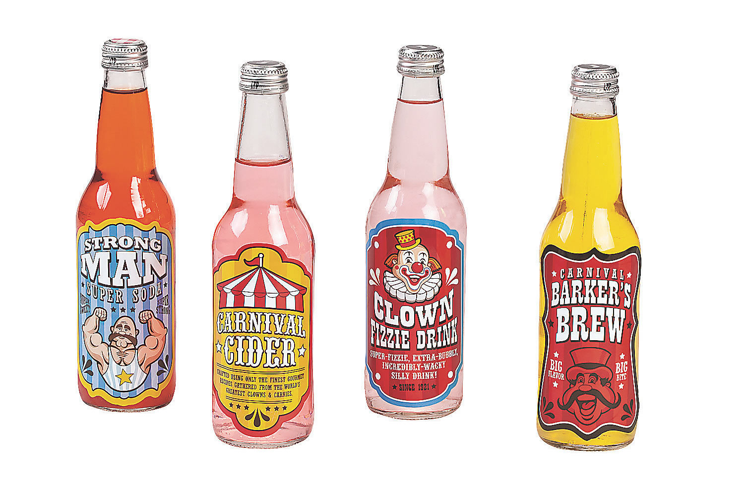 carnival drinks labels