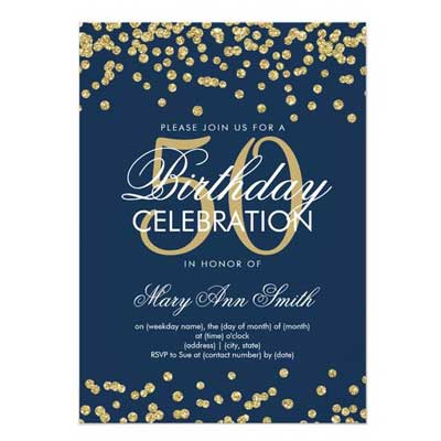 100 50th Birthday Party Ideas By A Professional Planner