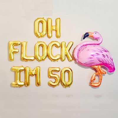 cOh Flock I'm 50 balloons