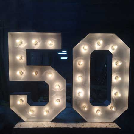 marquee light numbers