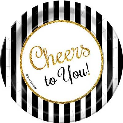 Cheers to You party supplies