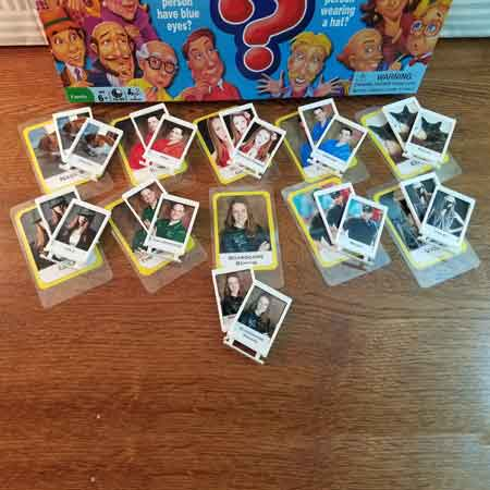 personalized Guess Who game