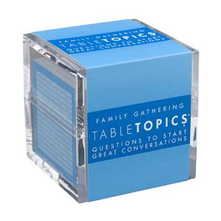 Table Topics conversation starter cards